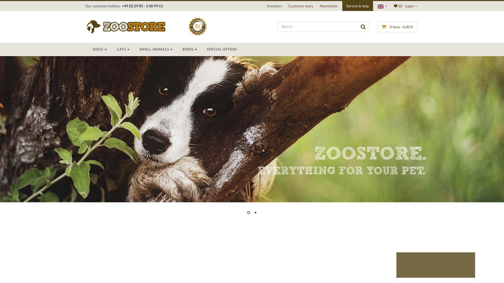 Gutschein für Zoostore: Rabatte für  Zoostore sichern